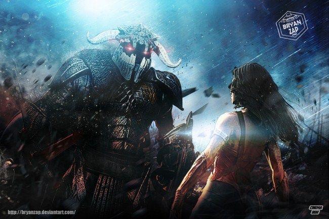 Trận chiến giữa Ares và Wonder Woman để lại khá nhiều tranh cãi cho các fan hâm mộ