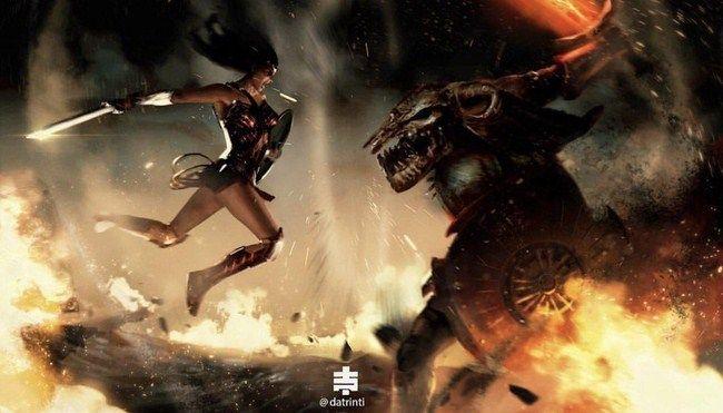 Lý do để Wonder Woman đố đầu với Ares là để nổi bật tính cách cũng như chiều sâu của nhân vật