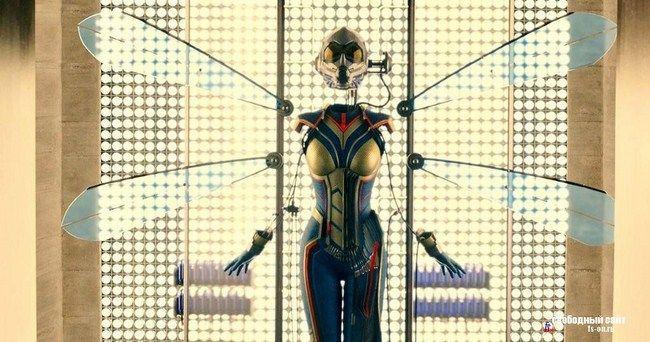 Bộ trang phục xuất hiện trong Ant-Man khác hẳn với tạo hình trong phần phim mới