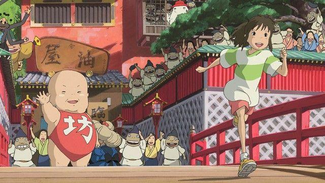 Giành tượng vàng Oscar cho phim hoạt hình xuất sắc nhất năm 2003, Spirited Away xứng đáng đứng đầu danh sách các phim hoạt hình Nhật Bản xuất sắc nhất thế kỷ 21