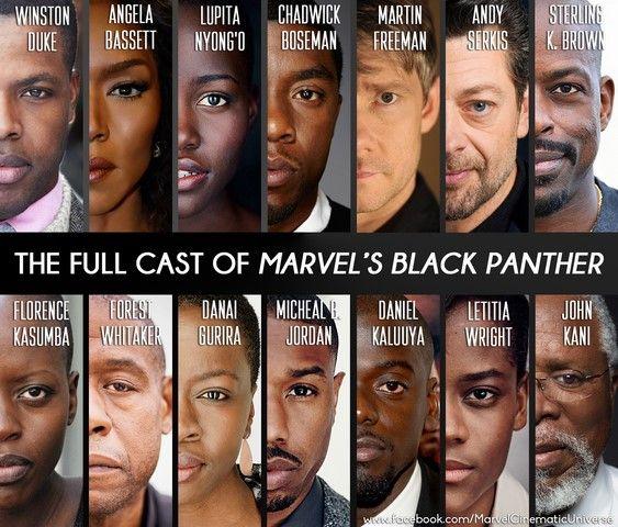 Dàn diễn viên của bộ phim hầu như là người da màu