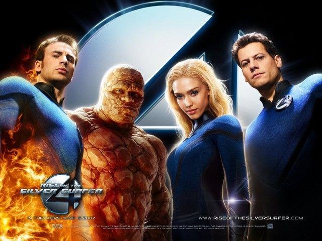 Bản phim Fantastic 4 đầu tiên được ra mắt năm 2005