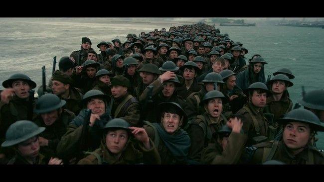 Dunkirk là bộ phim với đề tài lịch sử nhưng lại vô cùng hấp dẫn