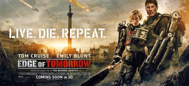 Edge of Tomorrow 2 đổi tên thành Live Die Repeat and Repeat