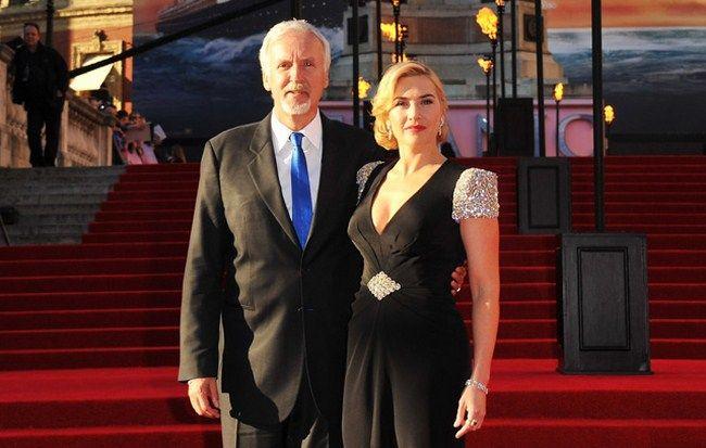 Đây là lần hợp tác đầu tiên sau 20 giữa Kate và James Cameron kể từ Titanic