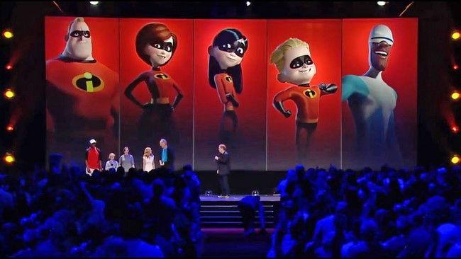 Sau hơn 10 năm cuối cùng The Incredibles 2 cũng được ra mắt