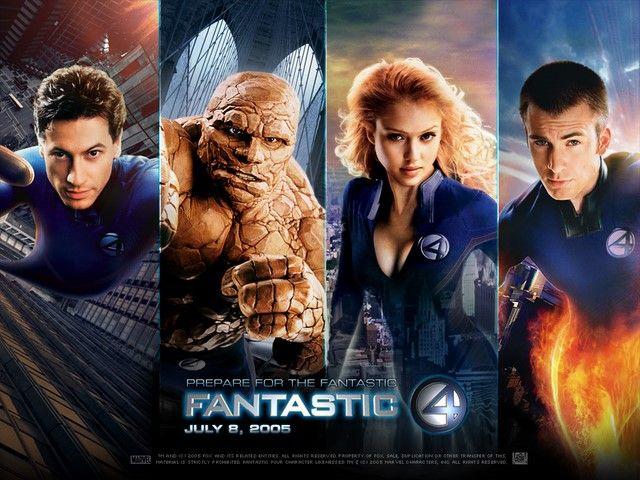 Ra mắt năm 2005 nhưng Fantastic Four lại không đạt được nhiều thành công như mong đợi