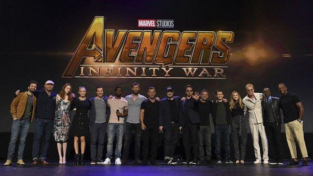 Dàn diễn viên của Infinity War tại sự kiện SDCC