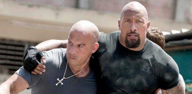 Vin Diesel và Dwayne Johnson đã xảy ra nhiều xích mích