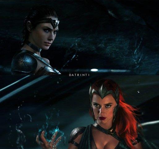 Người khai mào cuộc chiến chính là Wonder Woman