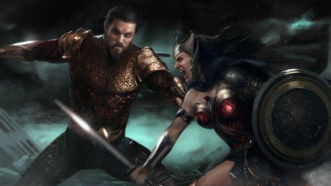 Wonder Woman và Aquaman chính là 2 nhân vật phản diện chính của sự kiện Flashpoint