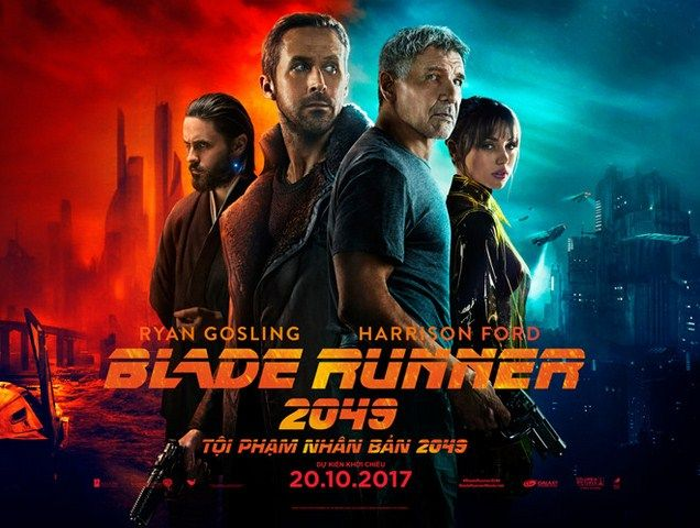 Blade Runner 2049 sẽ tiếp tục thấ bại về doanh thu tại thị trường Trung Quốc