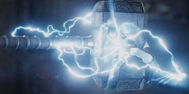 Cảnh Mjolnir bị phá hủy là cảnh phim quan trọng nhất
