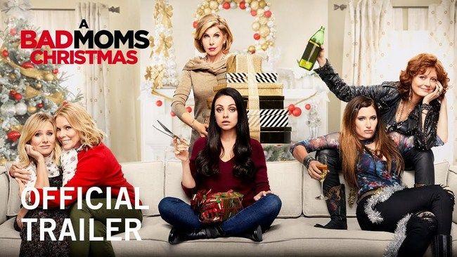 A Bad Moms Christmas tụt xuống vị trí thứ 4