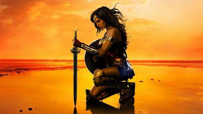 Justice League có liên hệ với Wonder Woman