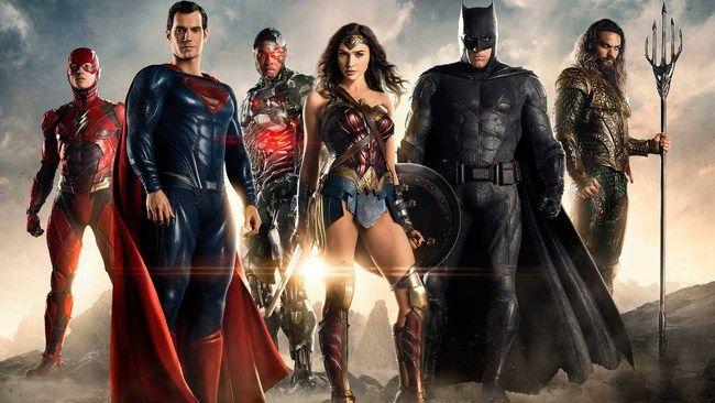 Chỉ còn 2 tuần nữa Justice League sẽ chính thức được phát hành