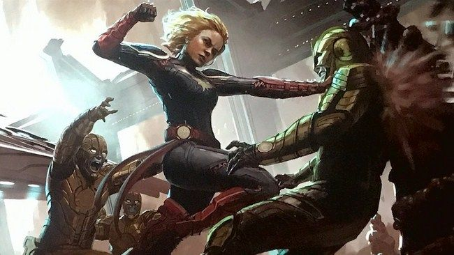 Captain Marvel sẽ dựa vào phần lớn cốt truyện từ truyện tranh