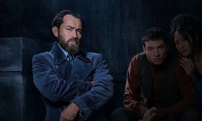 Jude Law trong tạo hình của Albus Dumbledore