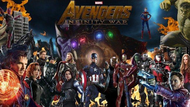 Avemgers: Infinity War và Avengers 4 là hai dự án lớn nhất của Marvel Studios trong 10 năm nay