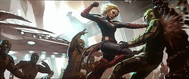 Captain Marvel sẽ tập trung vào cuộc chiến của người Kree và Skull