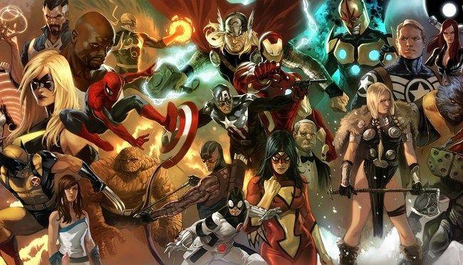 Với một kho tàng nhân vật khổng lồ Marvel sẽ có thể phát triển thêm nhiều series mới