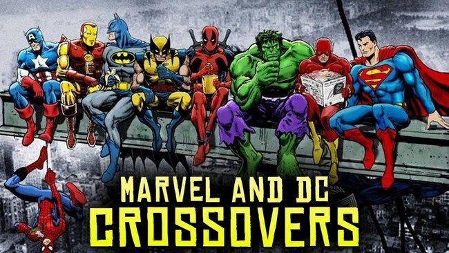Các phần truyện tranh cross-over giữa các nhân vật của Marvel và DC đã từng được xuất bản trước đây