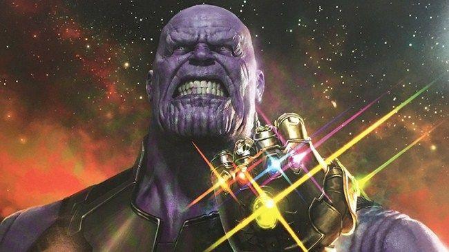 Các cảnh với sự xuất hiện của Thanos đều bị làm đen
