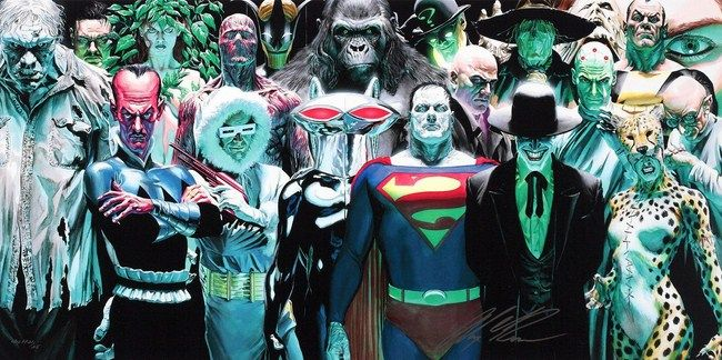 Legion of Doom nổi tiếng không kém gì Justice League