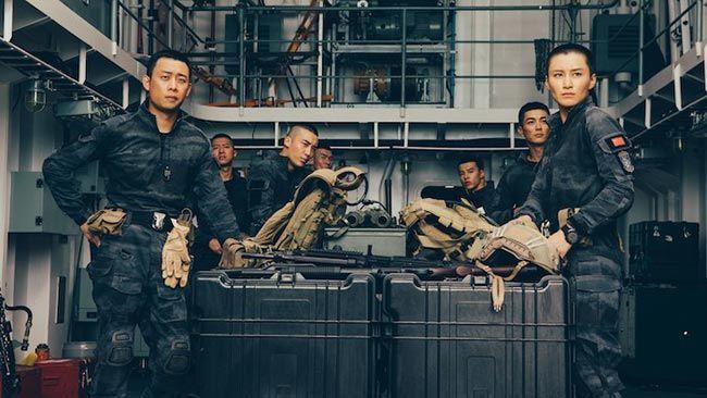 Hạm đội hải quân Giao Long trong phim