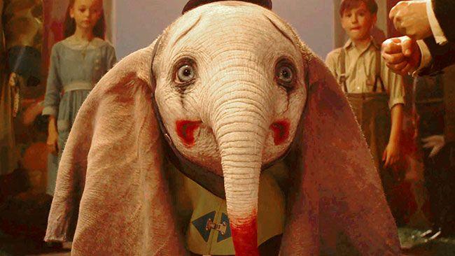 Tạo hình chú voi Dumbo vô cùng xuất sắc