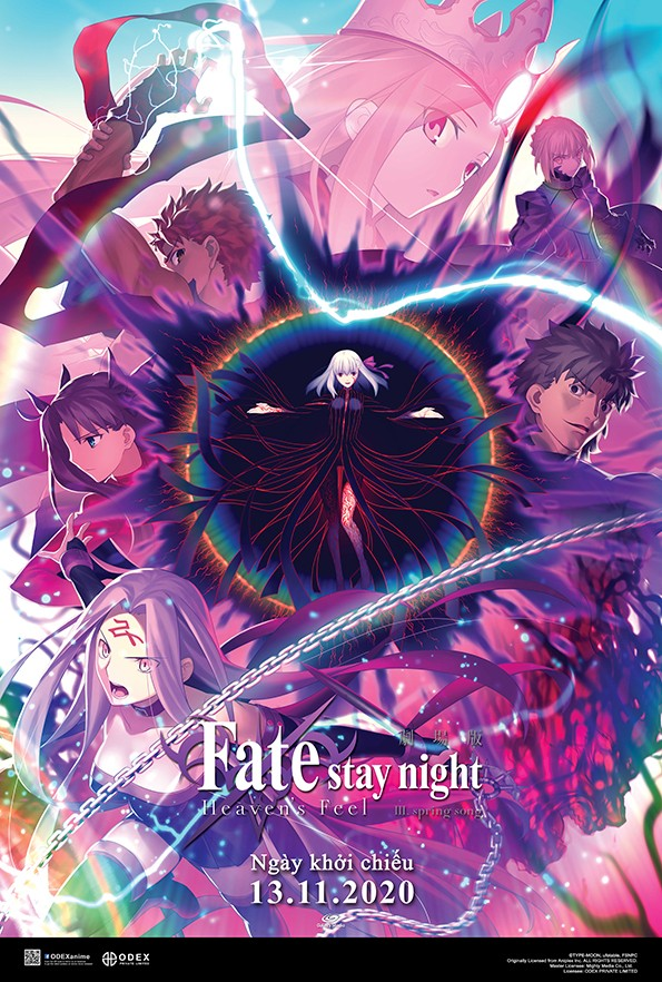 FATE/STAY NIGHT [HEAVEN'S FEEL] III. SPRING SONG