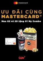 Ưu Đãi Cùng Thẻ Mastercard tại CGV