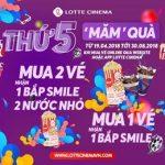 Thứ 5 Măm Quà Tại Lotte Cinema