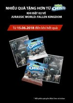 Quà Tặng Từ Mini Oreo Jurassic World