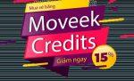 Mua vé bằng Moveek Credits - Giảm ngay 15%