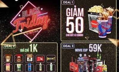 Black Friday Lotte Cinema