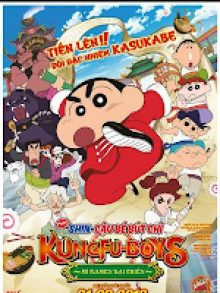 Shin - Cậu Bé Bút Chì: Kung Fu Boys - Mì Ramen Đại Chiến